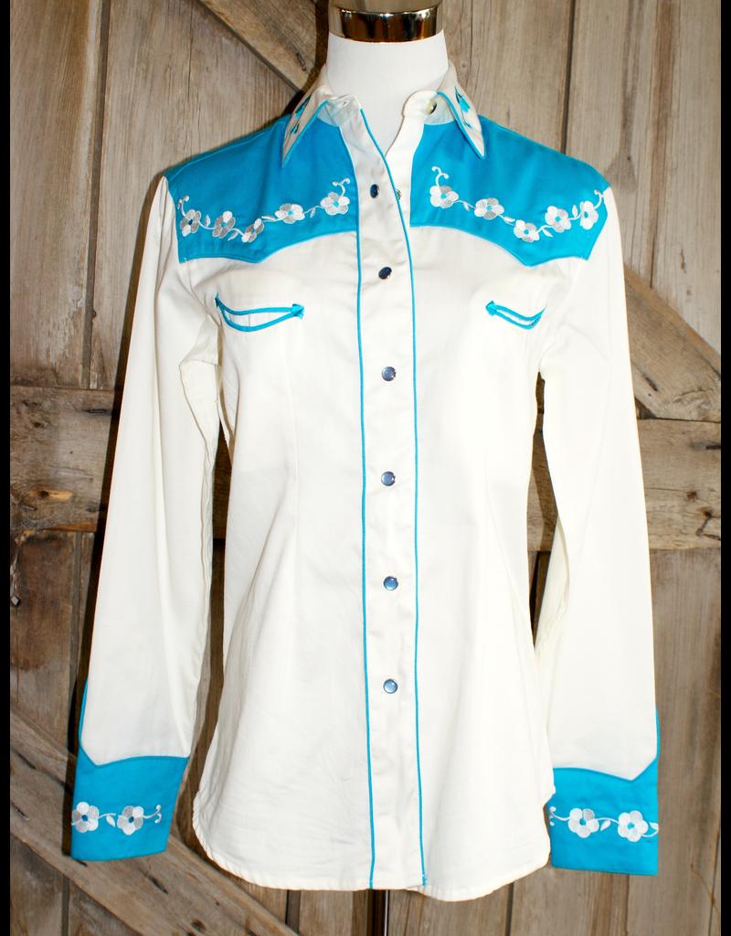 APPAREL Rockmount Elvis Loving U 2 Tone Shirt