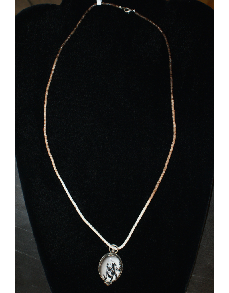 jewelry Silver Indian Pendant Necklace
