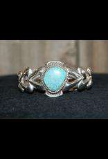 jewelry Sandcast Turquoise Bracelet