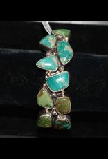jewelry Fox Turquoise Sterling Bracelet
