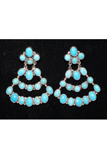 ACCESSORY VIntage Zuni and Hopi Chandelier Earrings