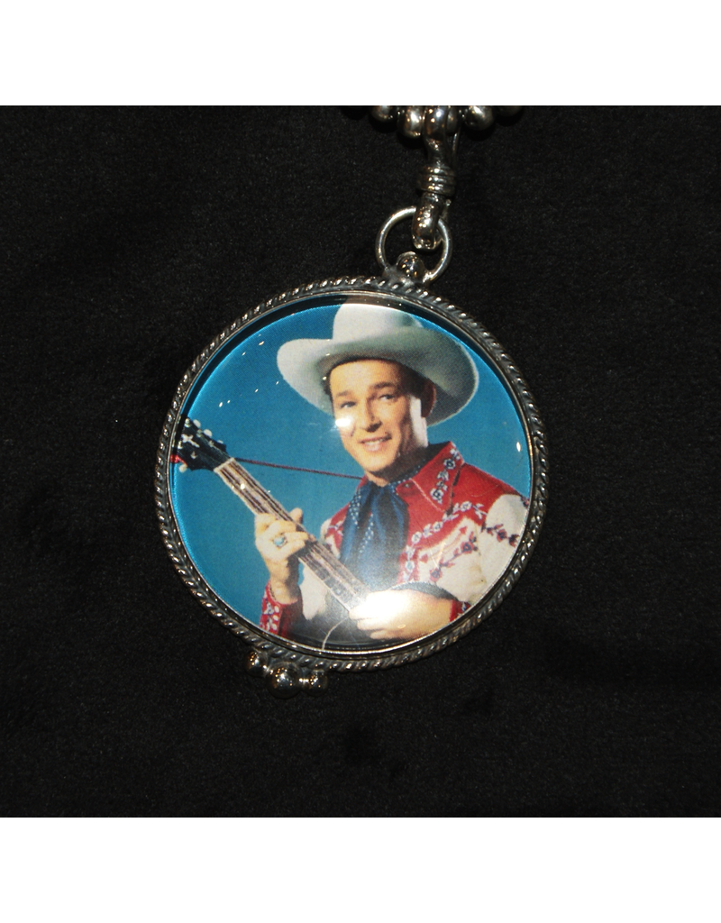 jewelry Vintage Revival Roy Rogers Guitar Playing Pendant