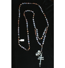 jewelry 3 Angels Peacock Pearls with Iron Cross