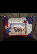 HOMEGOODS Buffalo Bill Cowgirl Pillow