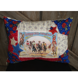 HOMEGOODS Buffalo Bill Cowgirl Pillow