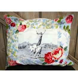 HOMEGOODS Trick Horse Cowgirl Pillow
