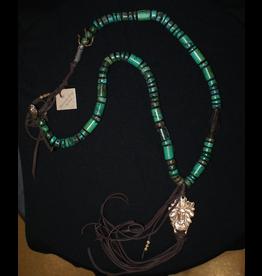 jewelry Paula Carvalho Turquoise Indian Necklace