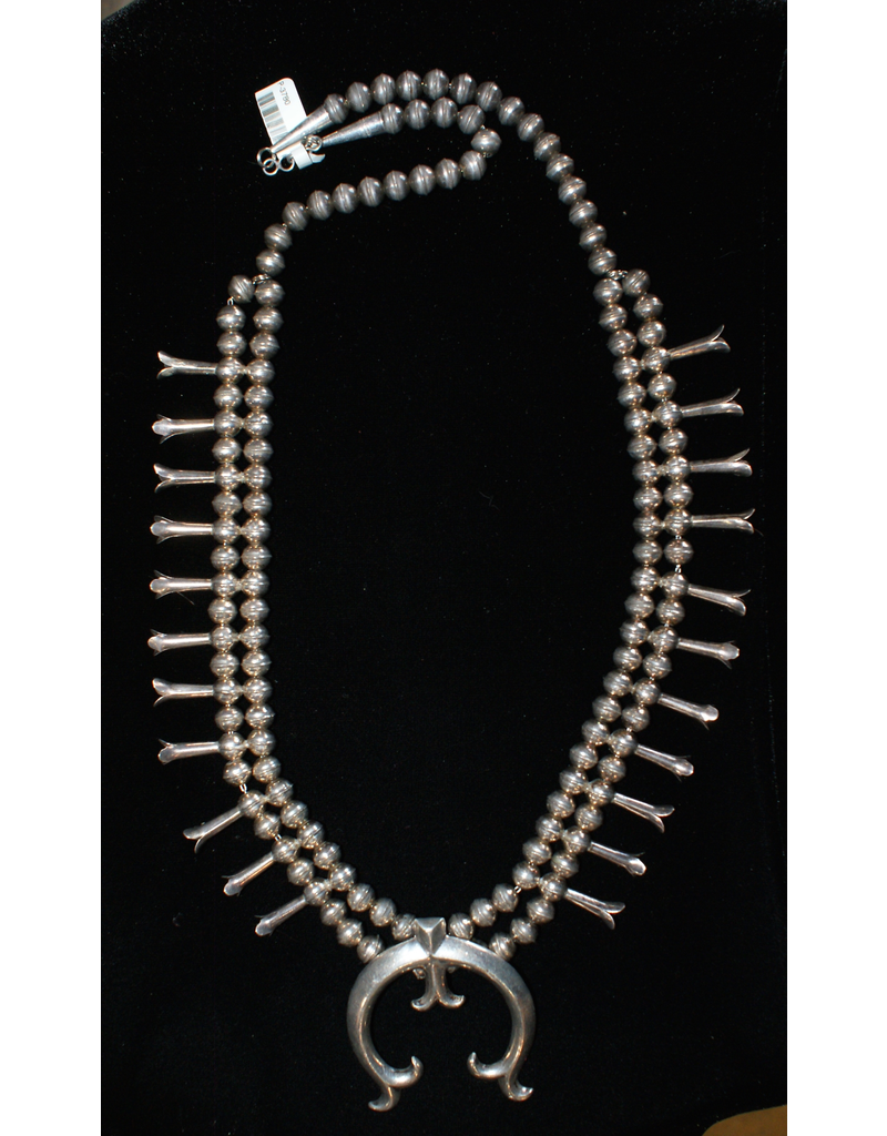jewelry Silver Squash Necklace