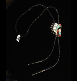 jewelry Sterling & Stones Bolo Tie