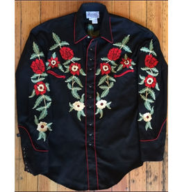 APPAREL Rockmount Vintage Floral Embroidery Top