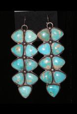 "jewelry 3 1/2"" Turquoise Earrings"