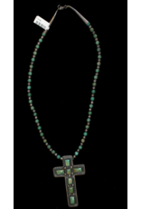 jewelry Navajo Old Pawn Cross Necklace