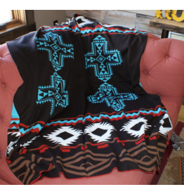 HOMEGOODS Cowgirl Justice Rodeo Blanket