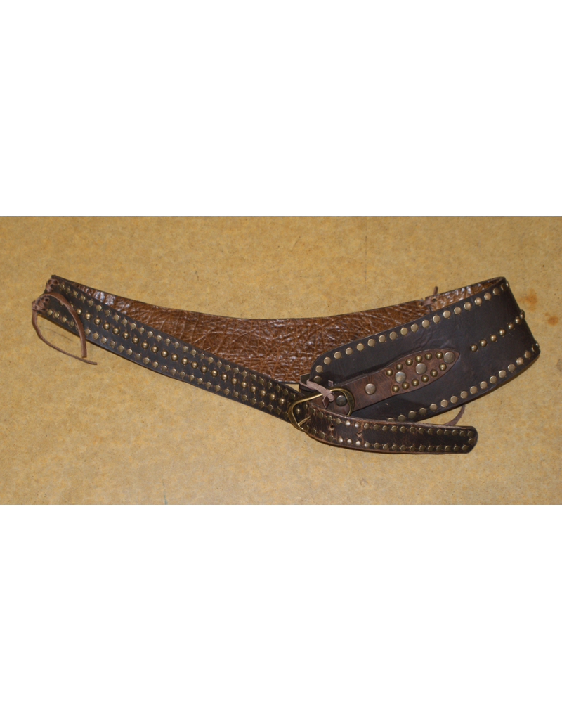 ACCESSORY Juan Antonio Bison Brown Belt