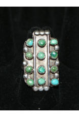 jewelry Rectangular Turquoise Ring
