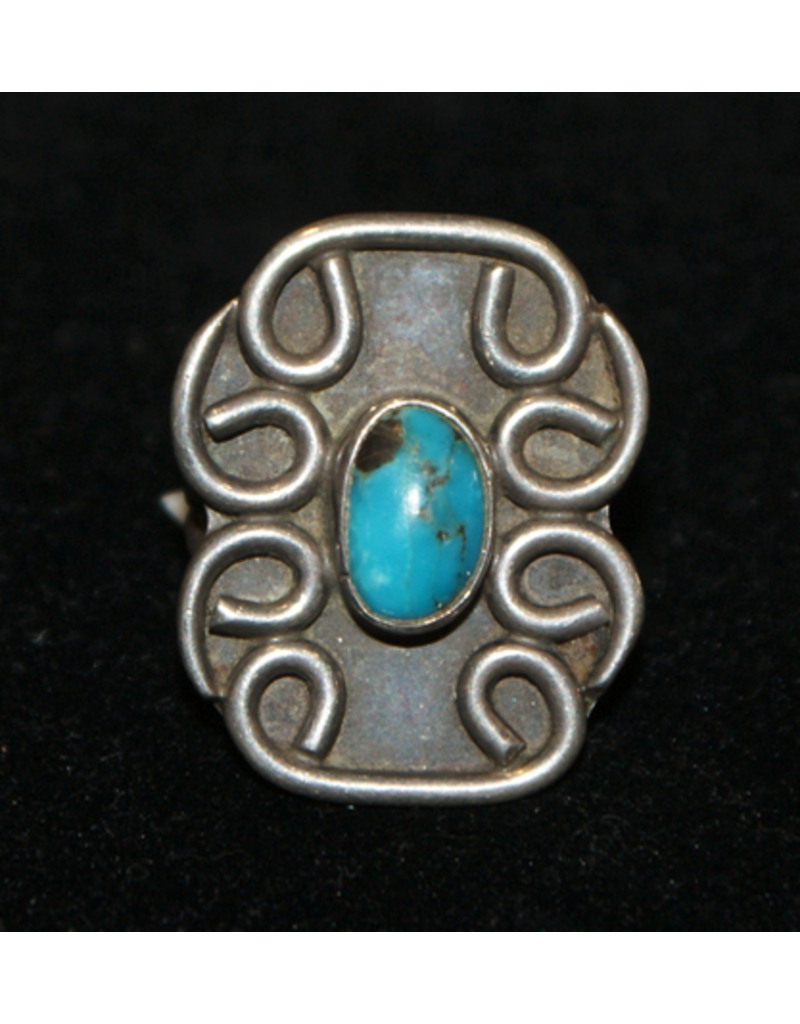jewelry Vintage Navajo Turquoise & Sterling Ring