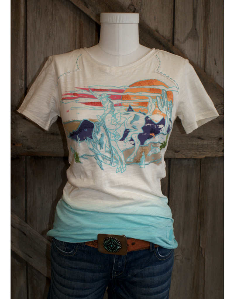 APPAREL Double D Paint by Numbers Tee