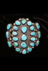 jewelry 23 Stone Navajo Turquoise Cuff