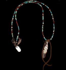 jewelry XOXO Tasha Feather Necklace