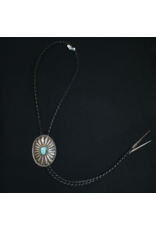jewelry Vintage Navajo Sterling Turquoise Bolo