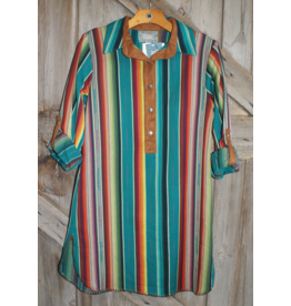 APPAREL Silverado Serape Dress