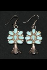 jewelry Vintage Squash Blossom Earrings