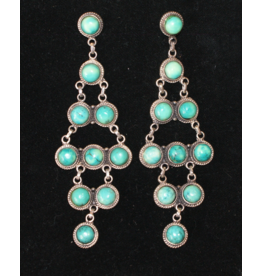jewelry Turquoise Chandelier Earrings by Rhed Lucy