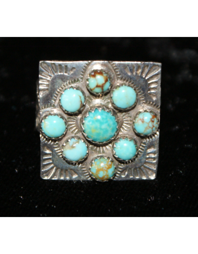 jewelry Vintage Turquoise Sterling Silver Ring