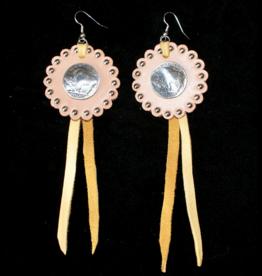 jewelry Handmade Buffalo Nickel Earrings