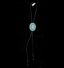 jewelry Vintage Turquoise Bolo TIe