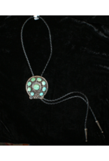 jewelry Vintage Turquoise Sterling Bolo Tie