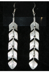 jewelry Navajo Sterling Feather Earings