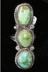 jewelry Turquoise 3 Stone Ring