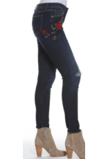 APPAREL Driftwood Jackie Red Rose Jean