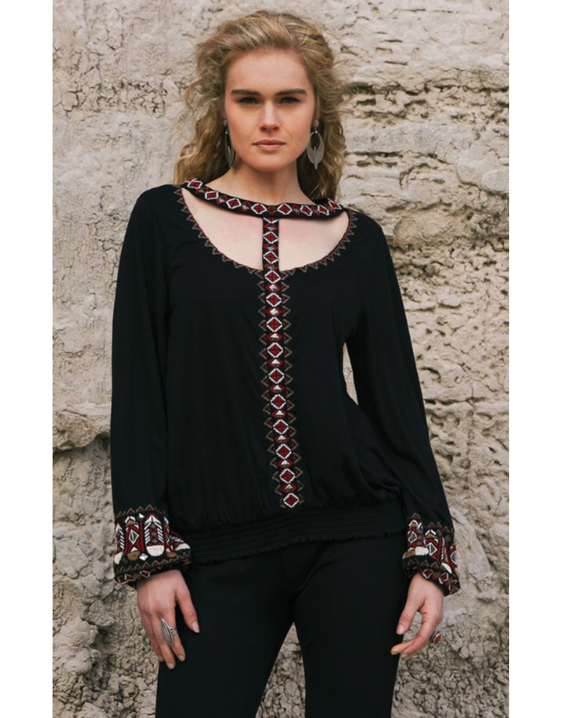 APPAREL Double D Apache Plumes Top