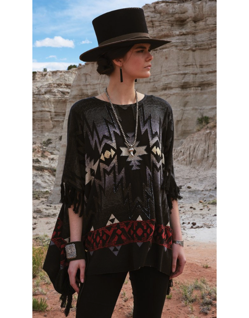 APPAREL Double D Night Raven Top