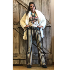 APPAREL Silverado Serape Bell Bottoms