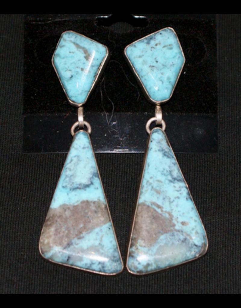 jewelry Kingman Turquoise Drop Earrings