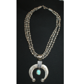 jewelry Naja with Navajo Pearls & Turquoise