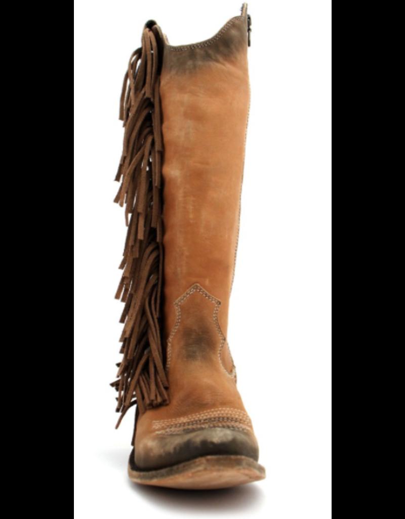 BOOT Vegas tall fringe concho boot