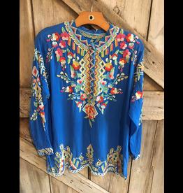 APPAREL Jessa Embroidered Tunic