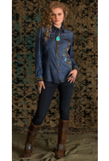 APPAREL Snow Leopard Workshirt by Double D Ranch