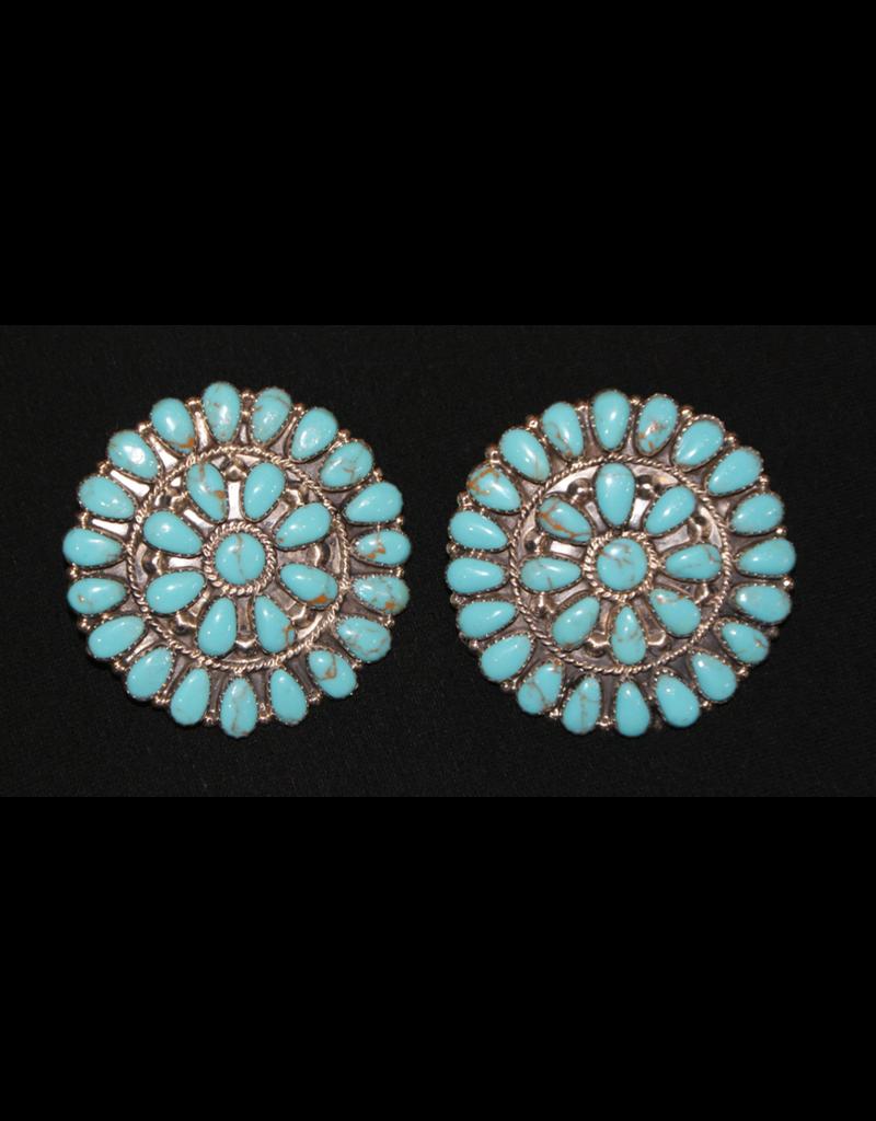 "jewelry 2"" Turquoise Earrings"