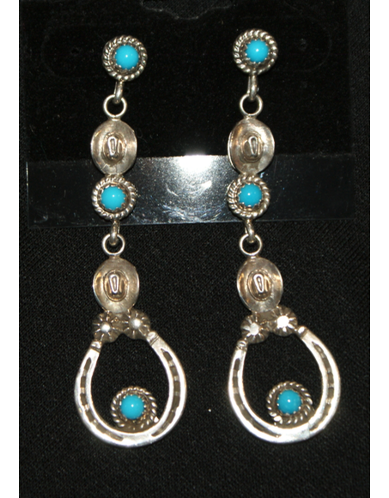 jewelry Western hats and Turquoise Earrings