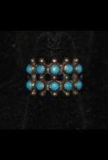 jewelry Fred Harvey Era Turquoise RIng