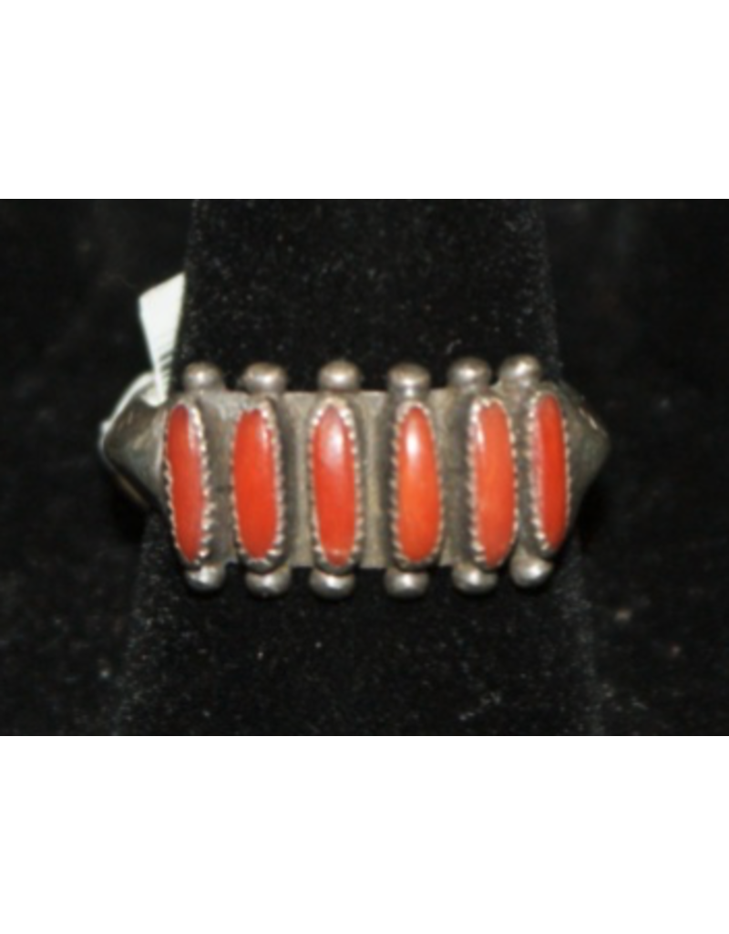 jewelry Coral Petit Point Ring