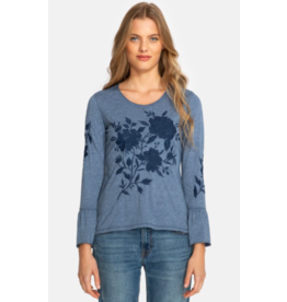 APPAREL Sadie Flare Sleeve Top by Johnny Was