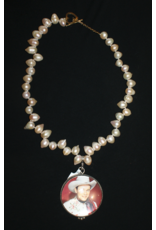 jewelry Vintage Revival Red Roy Rogers Pendant Necklace
