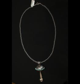jewelry Beautiful Navajo Pearl Turquoise Naja Necklace