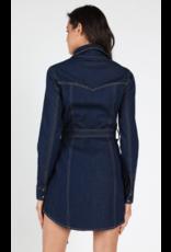 APPAREL Denim Dress